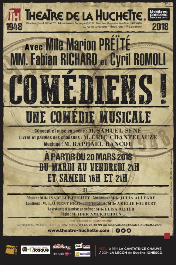 Comédiens ! (2018)