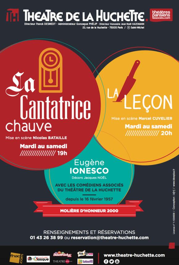 Spectacle Ionesco - Théâtre de la Huchette
